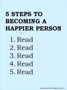 5 steps to becoming a happier person
